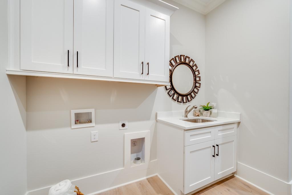 The Malibu | Laundry Room