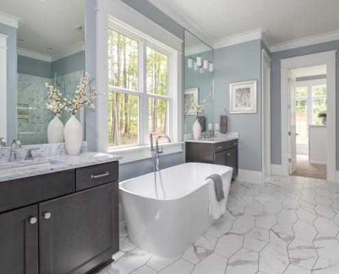 The Canterbury | Master Bathroom