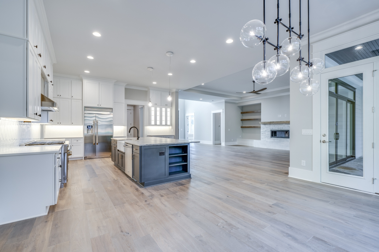 The Palisades | Dining, Kitchen, Family Room