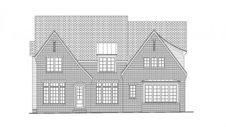 English Silver Oak Plan Front
