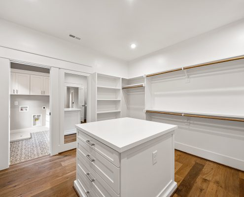 The Wellington | Master Closet & Laundry Room