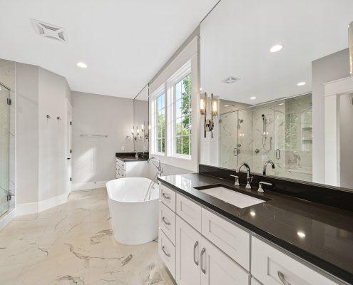 The Wellington | Master Bathroom