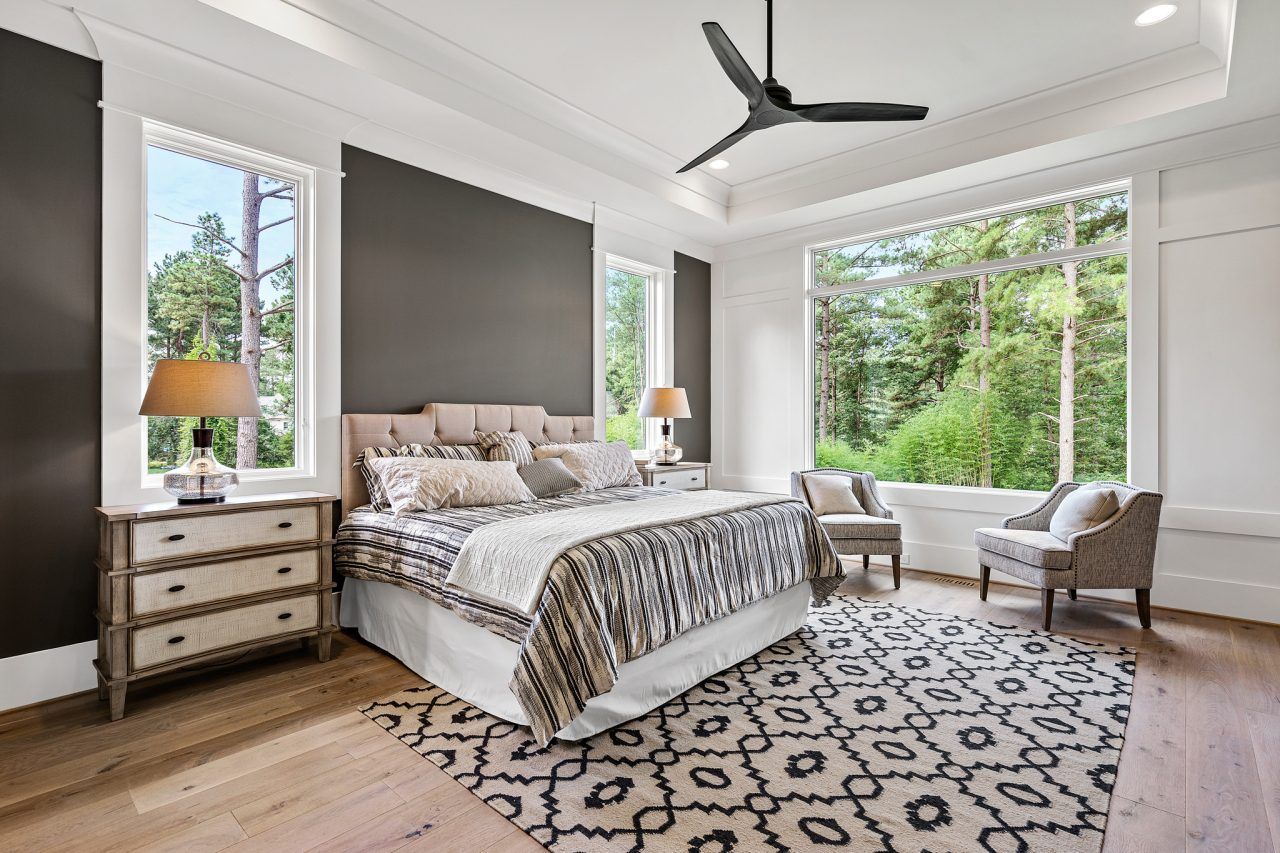 The Palisades | Master Bedroom