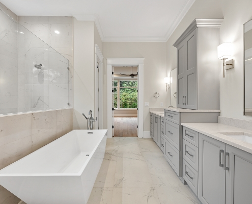 Custom Plan | Master Bathroom