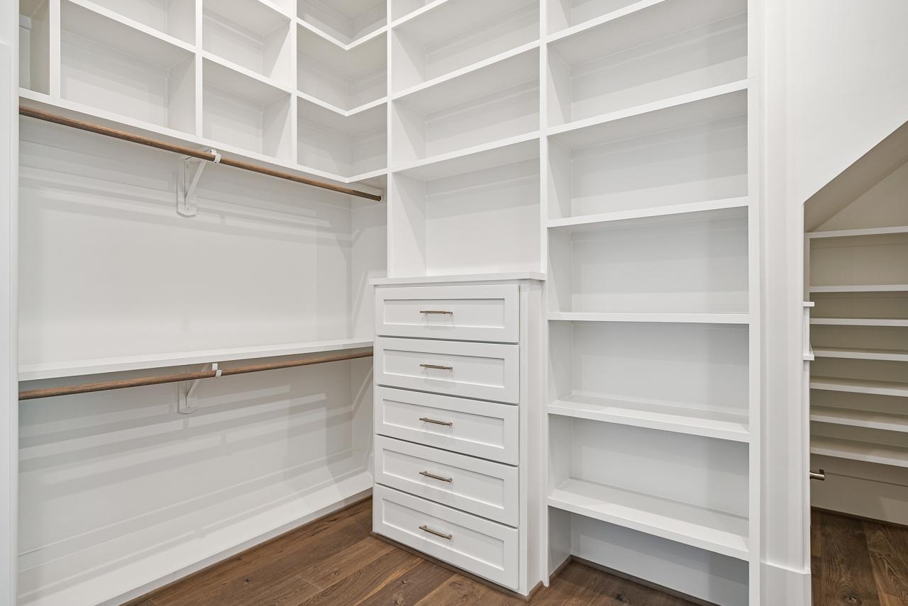 The Modern | Master Closet