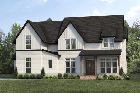 Modern Farmhouse Silver Oak | Rendering